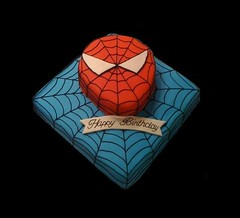 Spiderman Birthday Cake (BradyCakes) Tags: birthday cake spiderman