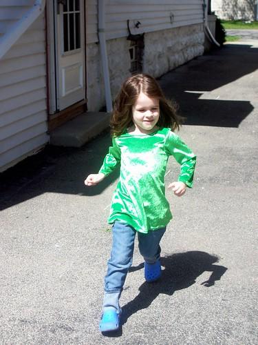 Bethany running