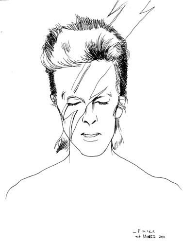 david bowie by farel dalrymple