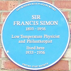 Photo of Francis Simon blue plaque