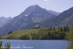 Waterton Glacier National Park (Fereshte Faustini) Tags: lake glacier glaciernationalpark waterton naturephotography princeofwales landscapephotography hdrphotography fereshtefaustini