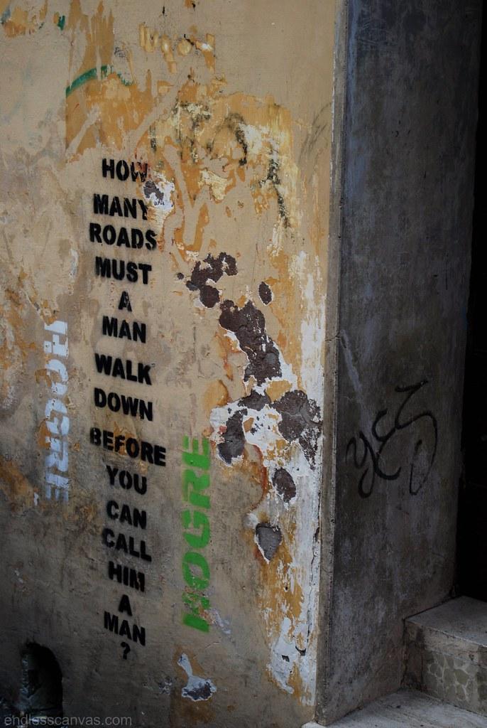 Hogre Stencil Graffiti Street Art Rome Italy.