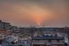 Good Morning Beijing (Sam Ilić) Tags: china old city sky sun sunrise beijing 北京 photomatix 中华人民共和国 5dmarkii canon24105mm4