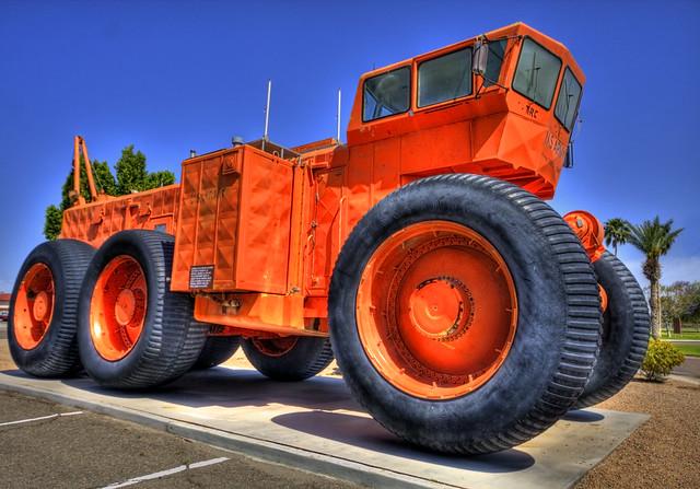 LeTourneau TC-497 Overland Train MkII. Yuma Proving Ground Heritage Center