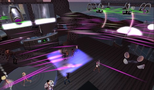 alien frequency party in second life