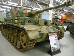 Sd Kfz 161 Panzerkampfwagen IV Ausf D (simononly) Tags: uk england museum army spring war tank military iraq nazi german soviet dorset ww2 vehicle british ww1 coldwar panzer 2010 bovington allied