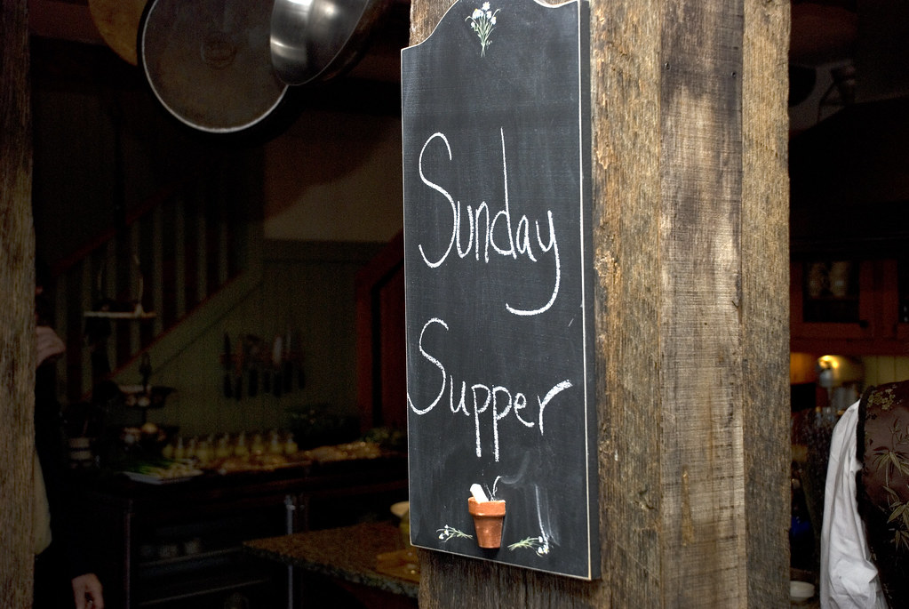 Sunday Supper Club at Salt Water Farm