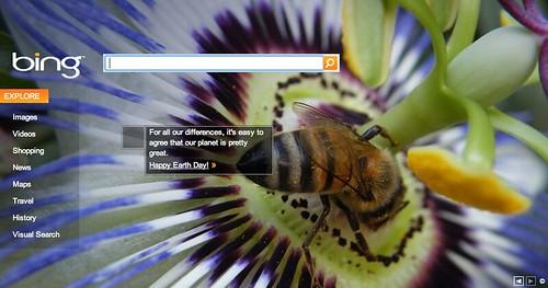Bing Earth Day