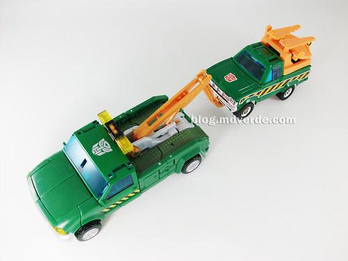 Transformers Hoist RotF Deluxe vs Hoist G1 - modo alterno