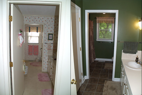 Guest Bathroom Before & After