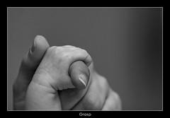 Safe (nune) Tags: bw baby hand finger 2010 blackanwhite monochromia platinumheartaward