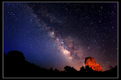 The Milky Way (Dylan MacMaster) Tags: lightpainting utah archesnationalpark milkyway fotocompetitionbronze fotocompetitionsilver fotocompetitiongold