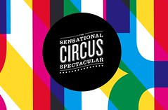 Circus Logotype (Nathan Godding) Tags: color spectacular logo typography graphicdesign colorful overlay sensational logotype cmyk ascentional