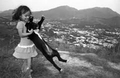 .dance with me (Man Wu) Tags: dog 35mm hongkong diy dance iso400 stranger 400tx sheungshui f20
