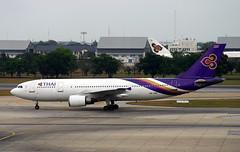 A300B4-601 | Thai Airways | HS-TAD | DMK (Christian Junker | Photography) Tags: canon eos 300d dslr 28135mm aero plane aircraft airbus a300b4622r a300 a306 a30b ab3 ab4 ab6 thaiairwaysinternational thaiairways thai tg tha hstad staralliance uthong อู่ทอง heavy widebody departure taxiing airline airport aviation planespotting 384 donmueanginternationalairport donmueang bangkokinternationalairport bkk dmk vtbd bangkok thailand asia domesticpassengerterminal viewingplatform christianjunker flickraward flickrtravelaward zensational worldtrekker superflickers