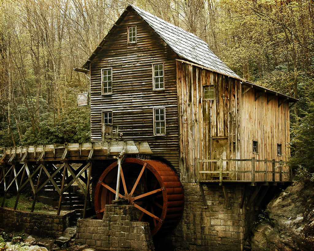 Vintage Grist Mill