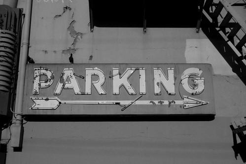 Parking BW
