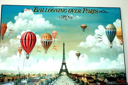 hot air balloons for post