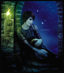 Enya [ Paint the Sky with Stars ] ( Omar Rodriguez V.) Tags: door new winter sky castle art rain sarah lady night digital painting movie stars lost flow sadness official fantastic artwork heaven paradise shoot princess song magic dream away lord spell queen rings fantasy age empire era sail imagine wish moment titanic temptation dreamer magical symphony soundtrack enya within newage brightman ameno onlytime amarantine mayitbe painttheskywithstars