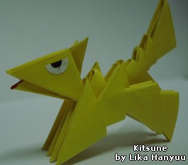 kitsune Block Folding