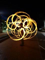 _5034782 (SleepingSeasons) Tags: longexposure lightpainting night fire circus slowshutter southampton jugglers firepainting