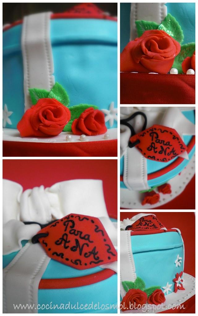 2 GIFT BOX CAKE