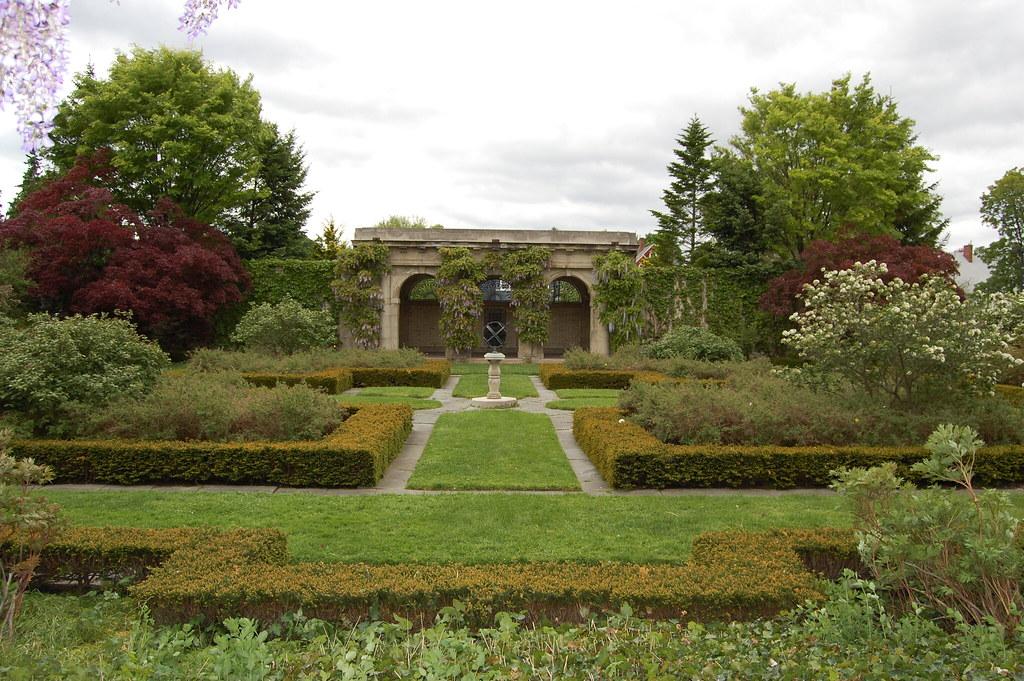 West  Garden   - Eastman  House