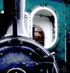 Ojo De Tren (Heredero 3.0) Tags: espaa tren abstracto hdr