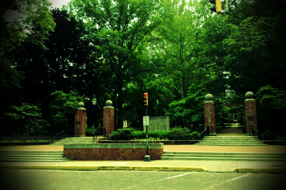 OU College Gate