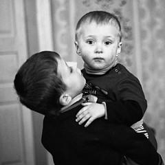 (Luba Zinevich) Tags: portrait bw kids children documentary nikond200