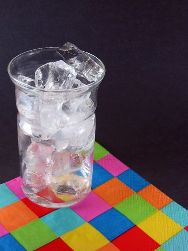 Ice in a drink glass by Steve A Johnson, on Flickr