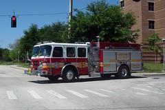 Orange County Fire Rescue - Engine 65 (FormerWMDriver) Tags: county rescue orange truck fire florida engine vehicle fl emergency department 65 pumper eone