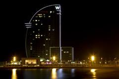 W HOTEL BARCELONA (photojordi) Tags: barcelona canon eos hotel nightshot mark w 1d nocturna vela iv mk4 photojordicom photojordi photomaniacos