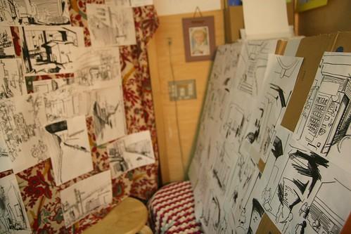 すきま展の絵たち2