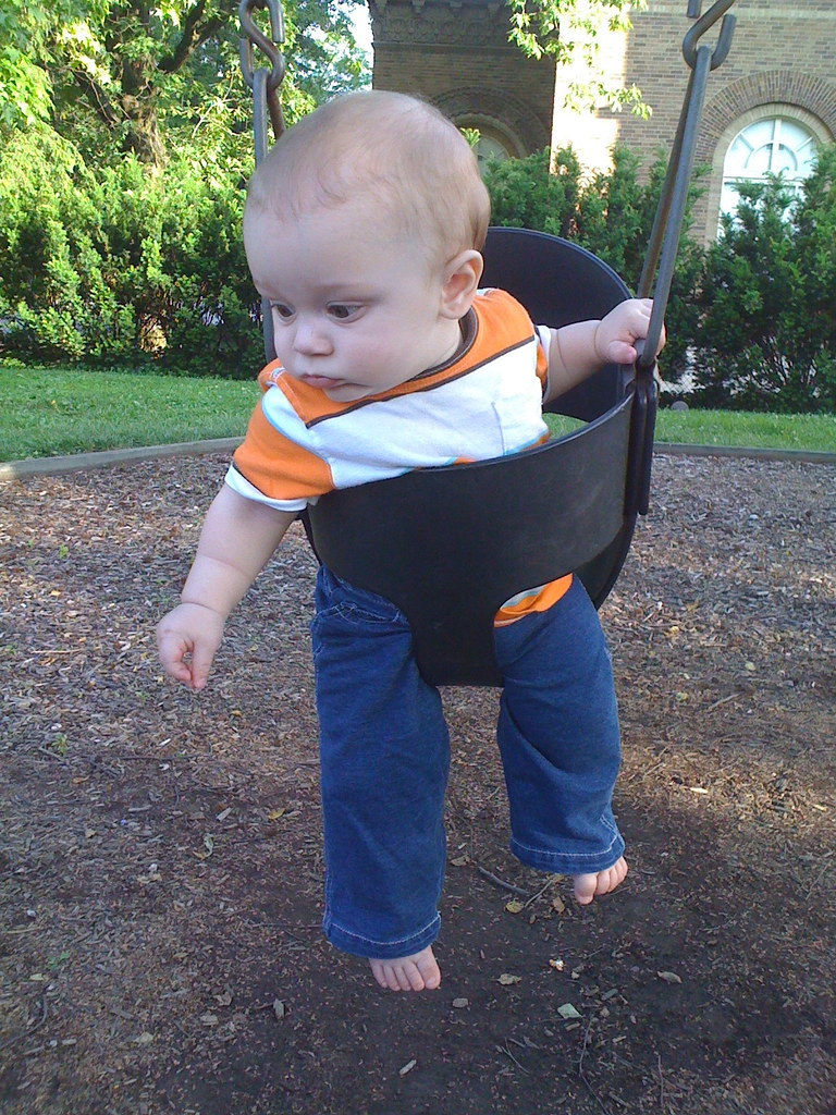 first time in a swing. verdict is: meh