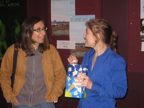 Kate Szperski & friend