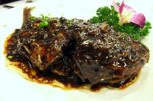 Deep Fried Huang Yue in Black Bean Sauce