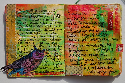 XS Journal - Blue Owl