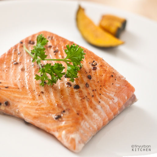 Sous Vide King Salmon