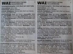 WAZ Impressen vom 21. und 22. Mai 2010