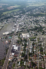 Main Street Manville NJ (dougschneiderphoto) Tags: above street usa landscape flying newjersey spring aviation main nj aerial blimp airship dirigible manville snoopyone countyrd533