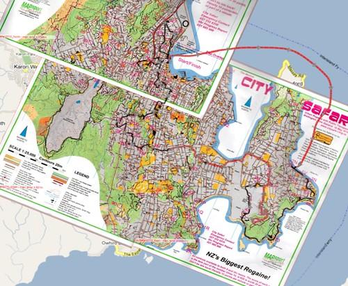 City Safari Map