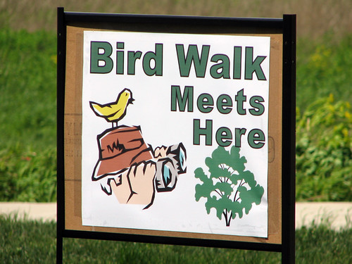 Bird Walk Sign