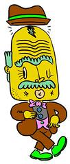 dancer005 (Big Pilpn') Tags: pictures sanfrancisco art illustration digital computer weird moving timelapse cool interesting graphics media funny colorful folkart unitedstates fineart rad internet cartoon drawings style website coloring animation characters sequence rgb bizzare 2010 cerebral gifs embarrasing worldwideweb andystattmiller astattmiller bigpilpn wwwbigpilpncom