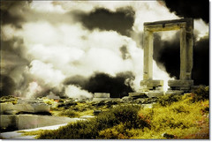 Leading to nowhere (Eva Psarrou) Tags: greece cyclades naxos portara greekculture apollotemple greekhistory aegeanislands