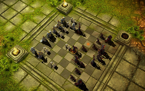 Battle Vs Chess Screenshot board
