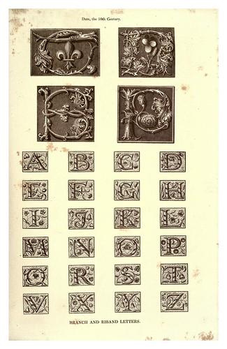 014-Siglo XVI-The hand book of mediaeval alphabets and devices (1856)- Henry Shaw