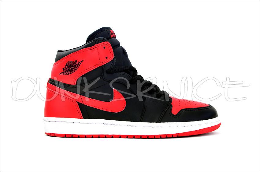 2001 Black/Red I's