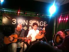 John Mayer in het 3 On Stage hok (3FM) Tags: fotolog 3fm