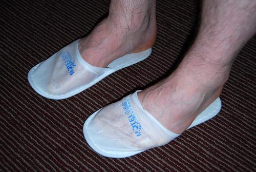 i62 - Mark's Feet, Standard Slippers